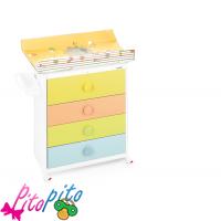 cassettiere neonato brevi - fasciatoio e cassettiere