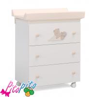 cassettiere neonato mibb - fasciatoio e cassettiere