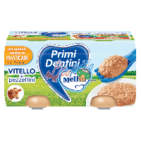 Primi Dentini Vitello in Pezzettini 2x80g