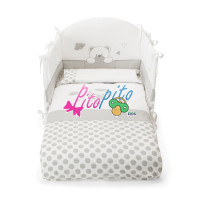 Set Letto 3pz Sfilabile Bonnie
