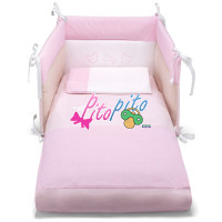 Set Letto Sfilabile 3Pz City Rosa